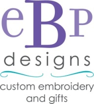 EPB Designs Custom Embroidery and Gifts