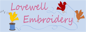 Lovewell Embroidery Gifts Personlized Monogrammed