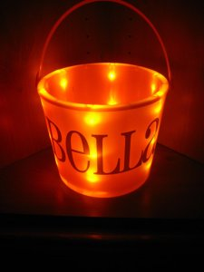 Light up Personalized Boutique Bucket