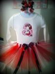 Personalized Shirt Tutu Bow