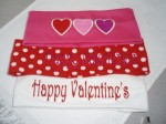 Personalized Valentine's Day Heart Headbands Girls