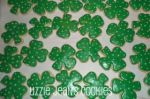 Shamrock St. Patrick's Day Cookies St. Louis