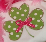 St Patrick's Day Shamrock Boutique Shirt Pink Ribbon