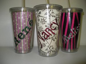 Personalized Monogrammed Tumblers Gift Tervis