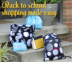 Back to School Thirty One Totes and Lunch Bags