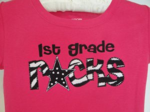 Kindergarten First Grade Rocks Shirt