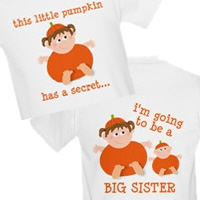 Halloween Pregnancy Announcement Shirt