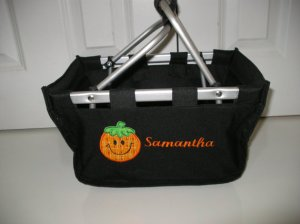 Personalized Halloween Mini Market Tote