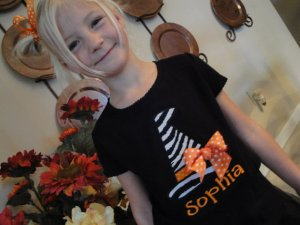Personalized Witch Hat Halloween Shirt
