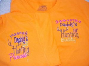 Personalized Hunting Kids Shirts