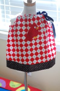 St. Louis Cardinals Pillowcase Girl's Dress