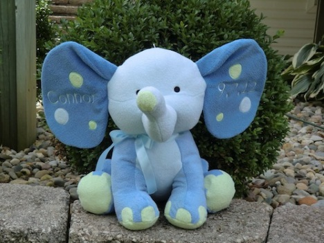 Personalized Baby Elephant