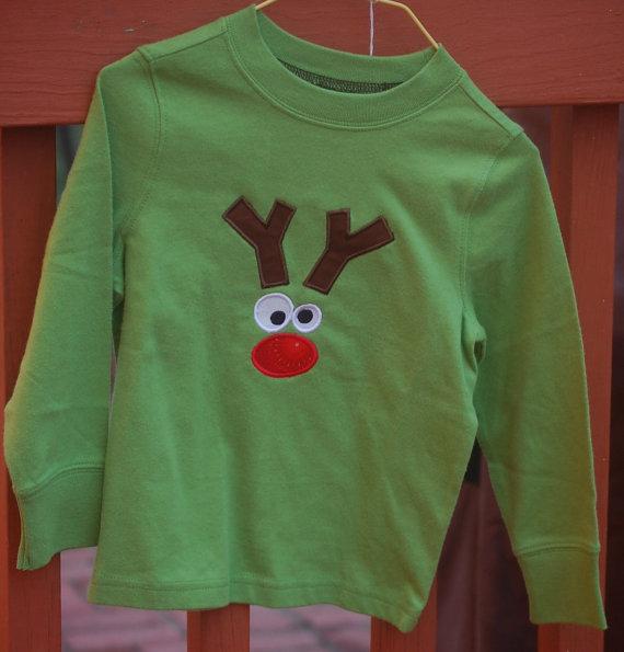 Silly Rudolph Reindeer Shirt