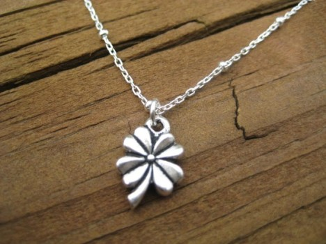 Four Leaf Clover St. Patrick's Day Necklace