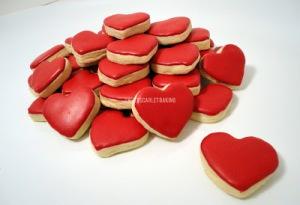 I Heart Valentine's Day Cookie Bites