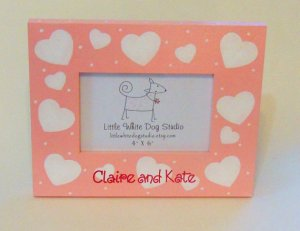 Personalized Valentine's Day Heart Picture Frame
