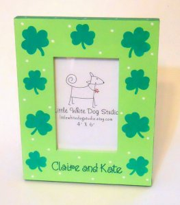 Personalized St. Patrick's Day Picture Frame