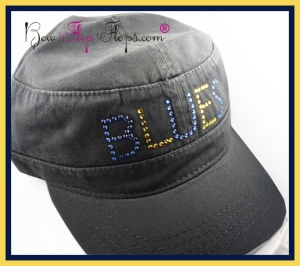 St. Louis Blues Bling Hat