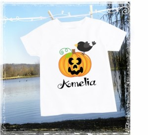 JackOLantern Personalized Pumpkin Halloween Shirt