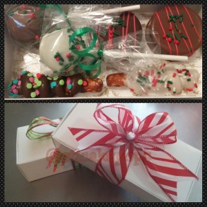 Cake Pops Cookies Pretzels Sampler Box