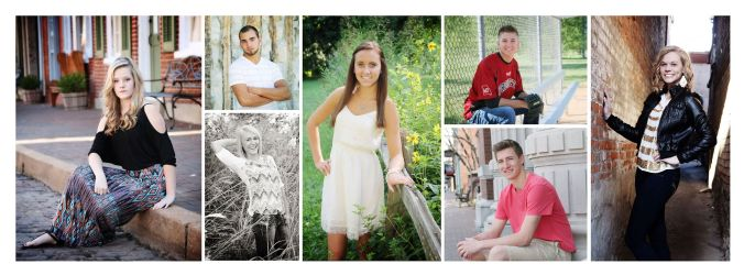 Senior children Family Photos