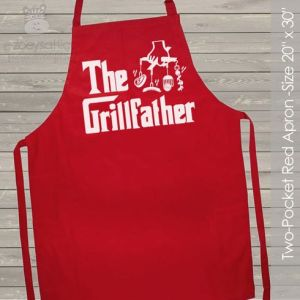 Grill father cooking apron