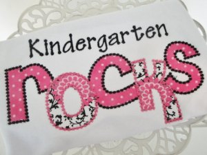 Kindergarten Rocks Back to School Shirt