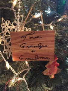 Memory Christmas Ornament