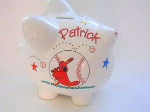 St. Louis Cardinals Piggy Bank