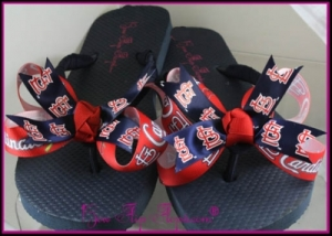 St. Louis Cardinals Flip Flops