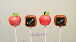 Teacher's Cake Pops
