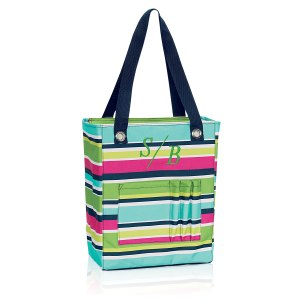 Thirty One personalized organizing tote